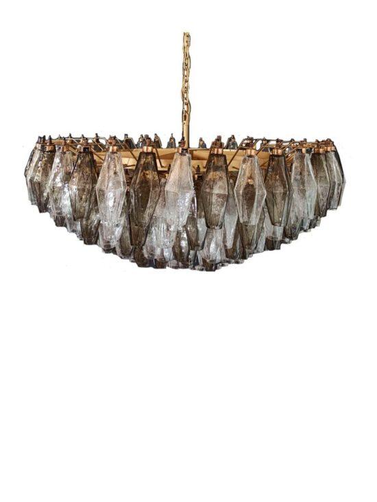 Murano ljuskrona polidri